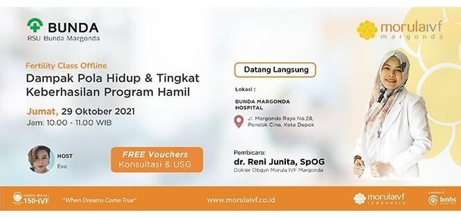 Fertility Class Bersama dr. Reni Junita, Sp.OG