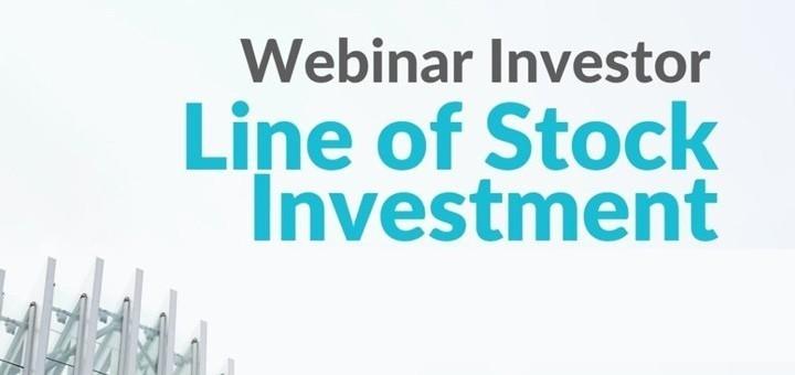Line of Stock Investment | Webinar Investor Saham