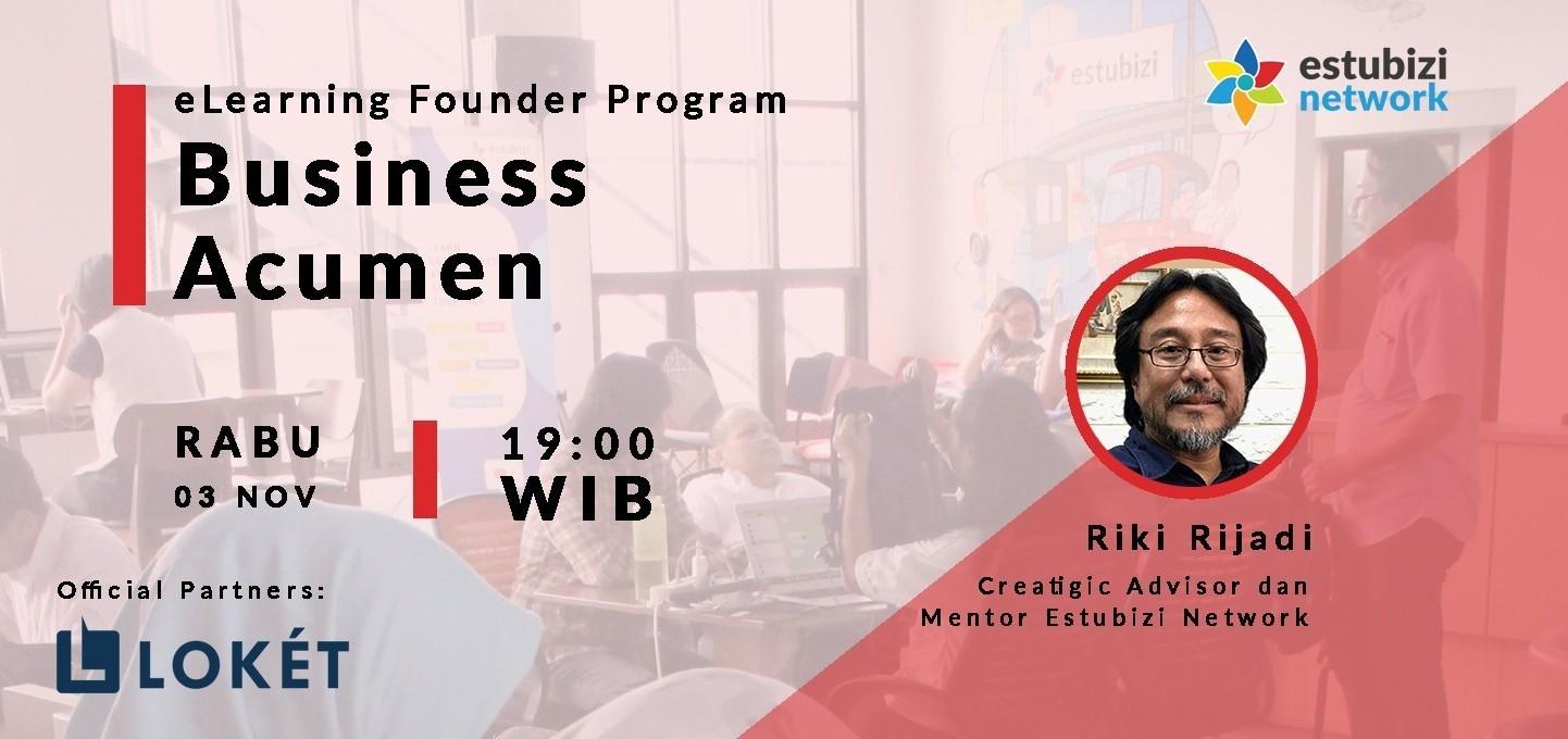 Founder Program: Business Acumen