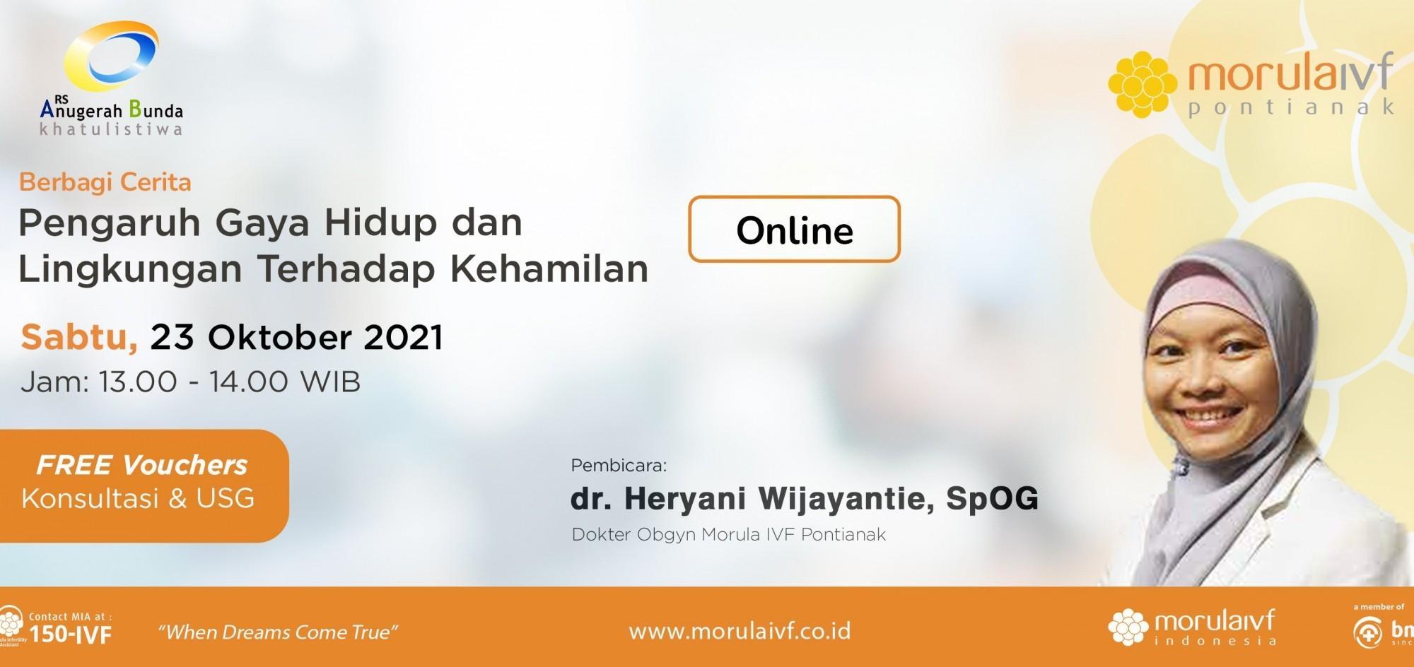 Free Voucher Konsultasi & USG dr. Heryani, SpOG - WEBINAR 231021