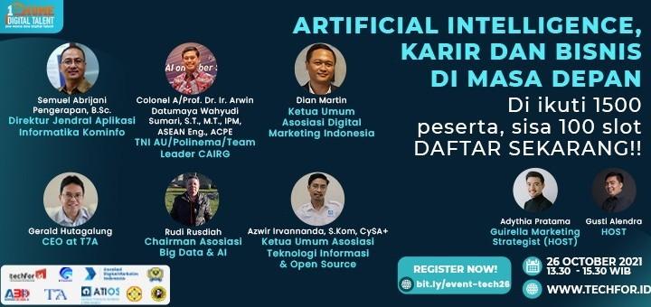 Artificial Intelligence, Karir & Bisnis di Masa Depan