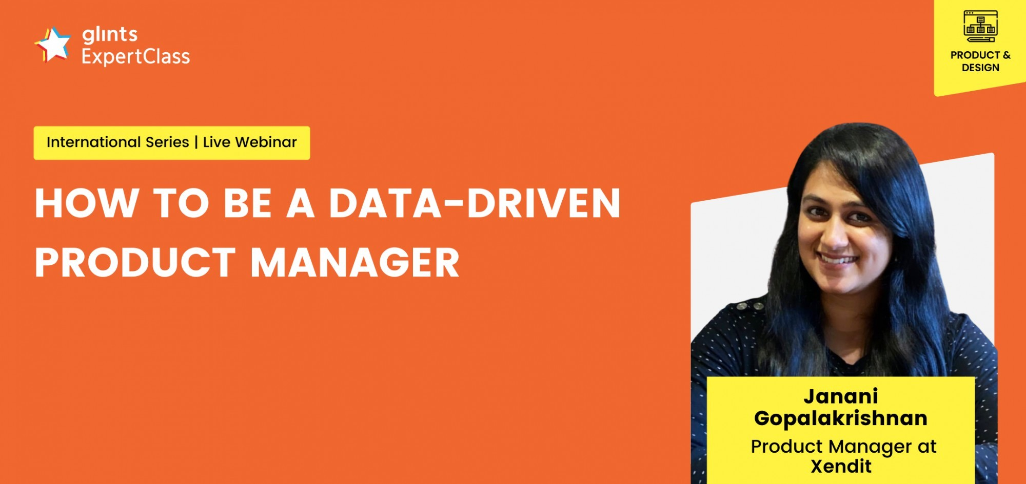 [Glints - GEC International Series] How to Be a Data-Driven Product Manager