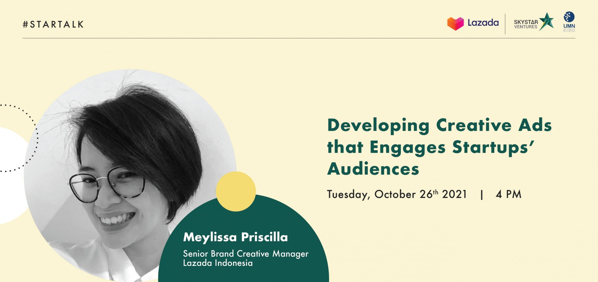 STARTALK - Developing Creative Ads that Engages Startups' Audiences