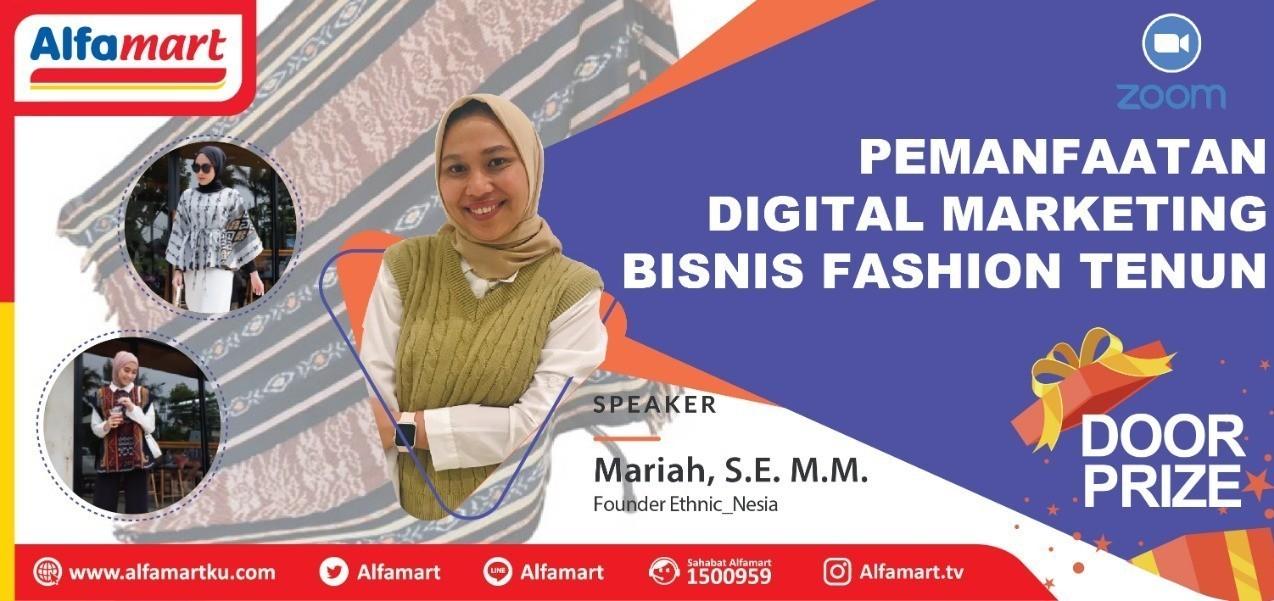 Pemanfaatan Digital Marketing Bisnis Fashion Tenun