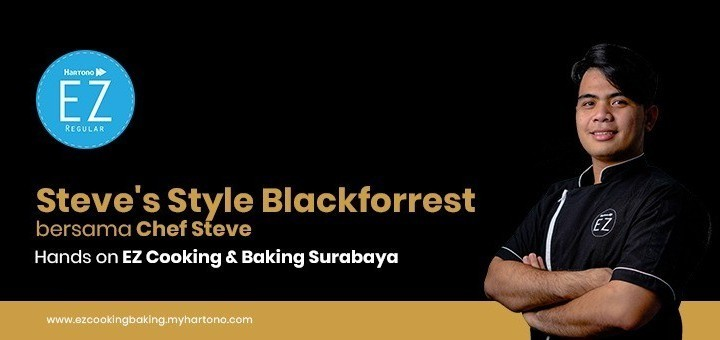 EZ Cooking Baking - Steve's Style Blackforrest