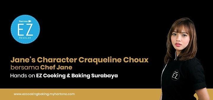 EZ Cooking Baking - Jane's Character Craqueline Choux