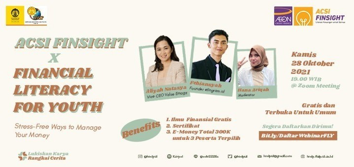 ACSI Finsight x Financial Literacy for Youth (FLY): Stress-Free Ways To Manage Your Money