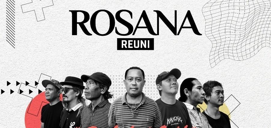 ROSANA REUNI online ( konser musik Bedait Malik )