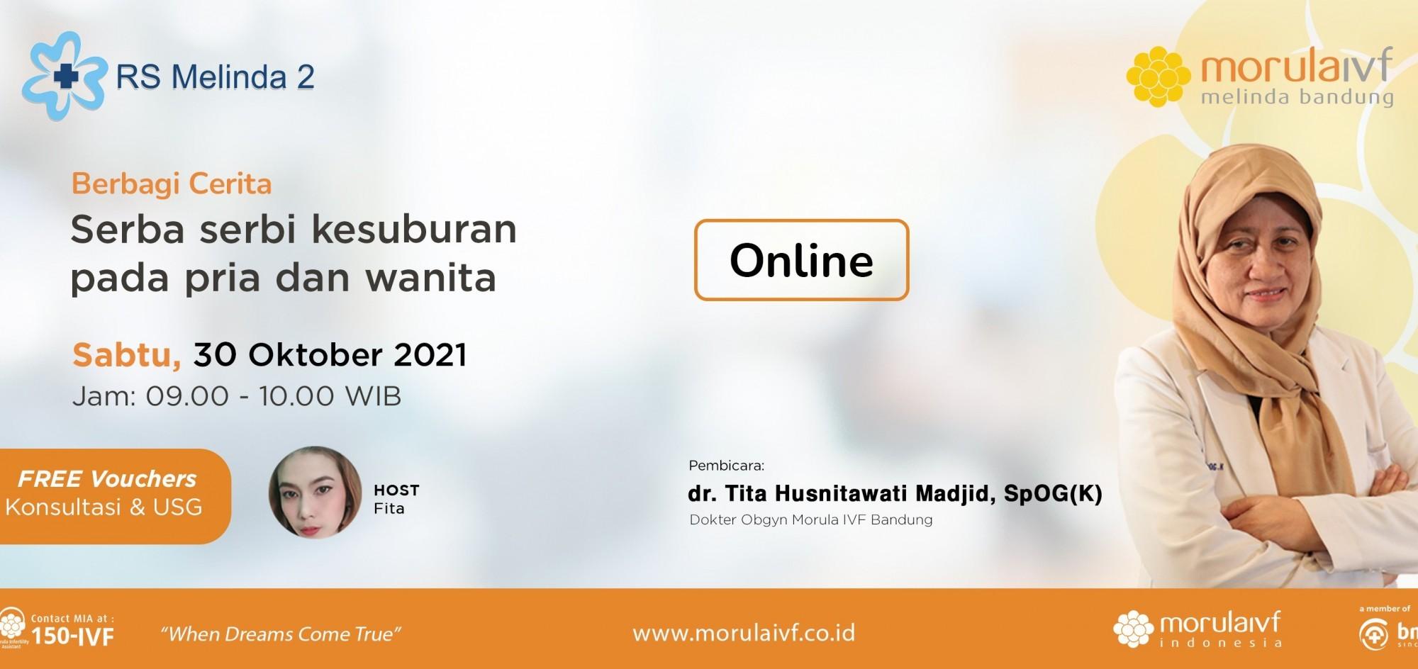 Morula Berbagi Cerita dr. Tita Husnitawati, SpOG(K)