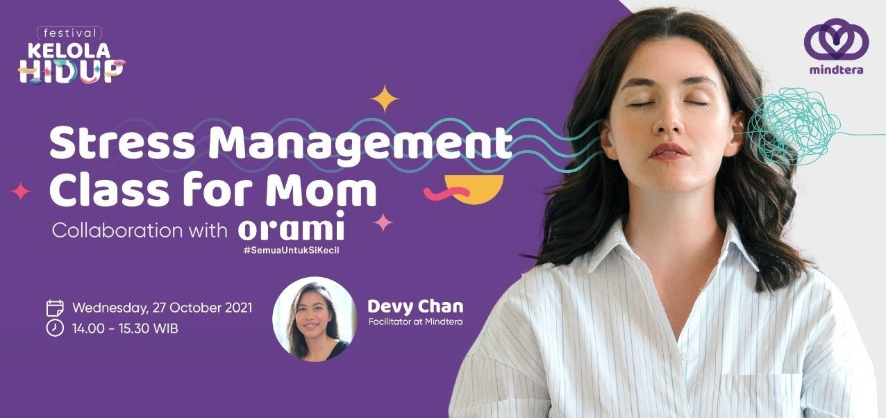STRESS MANAGEMENT CLASS FOR MOM