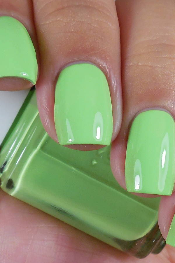 Greenery Nails But Not Really