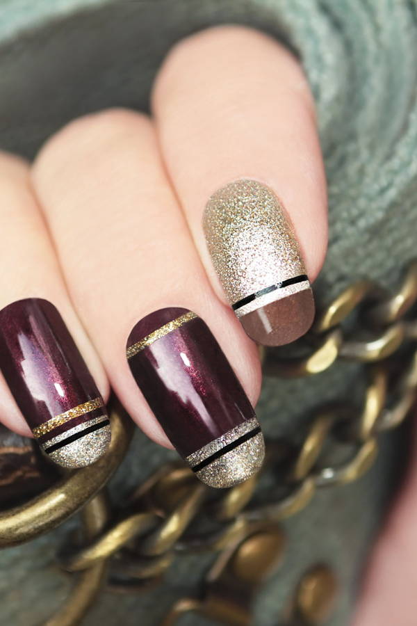 DIY Nail Art With Basic Household Items