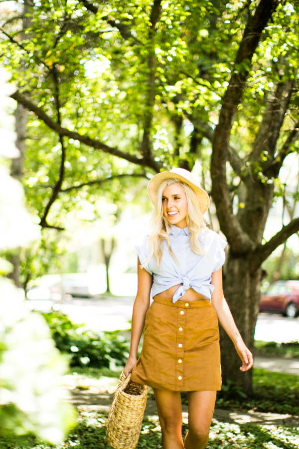 How the Heck to Make Fall Fashion Work in Warm Weather
