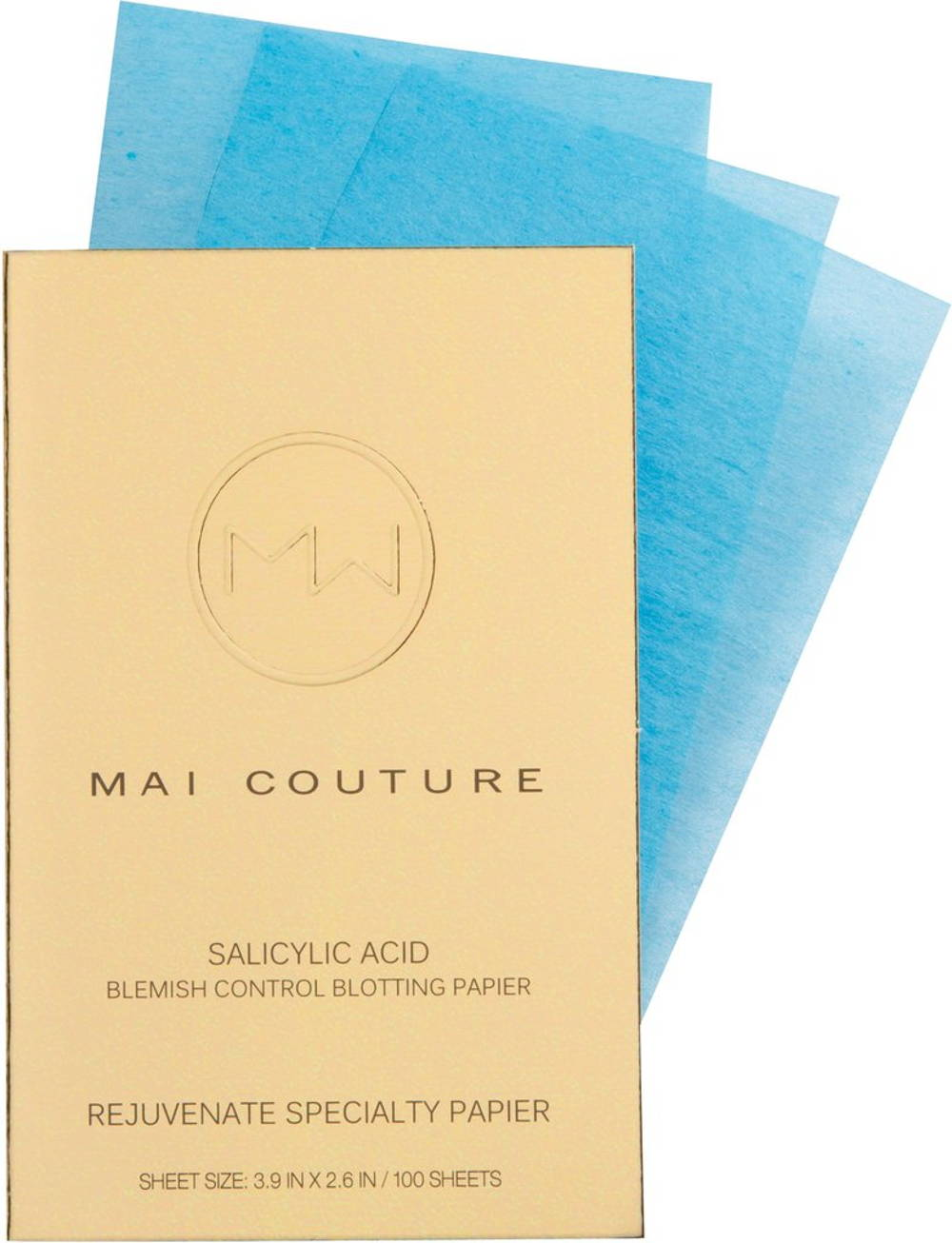 Mai couture salicylic acid paper