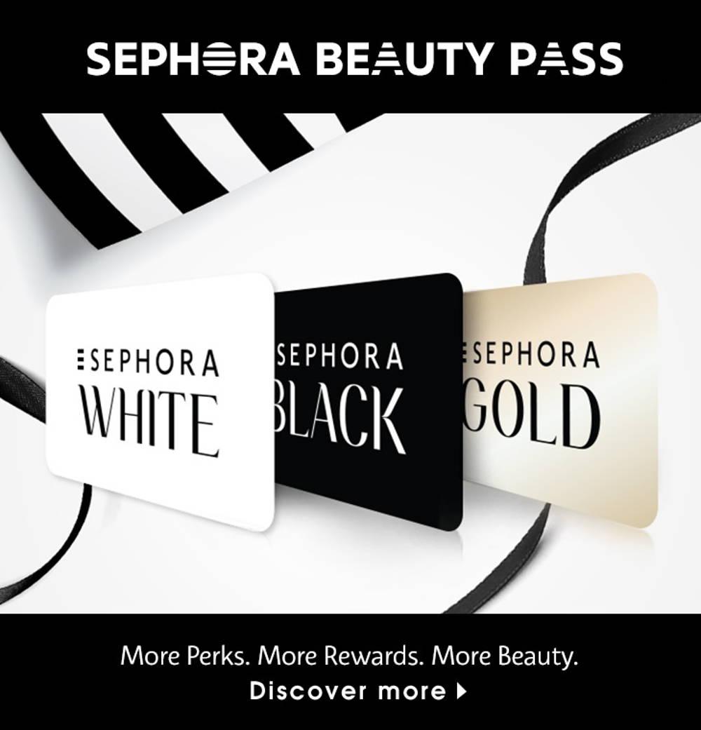 Sephora member card