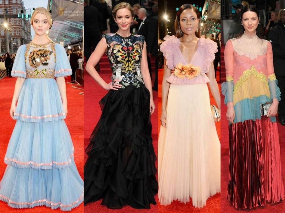 frills layers redcarpet trend