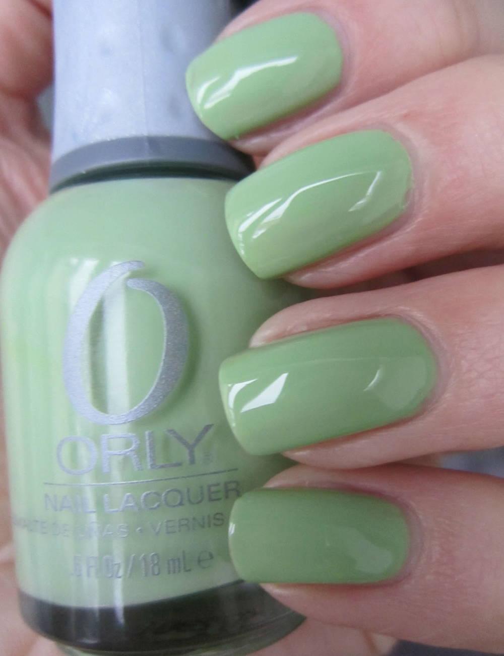 Orly Coachella dweller nail