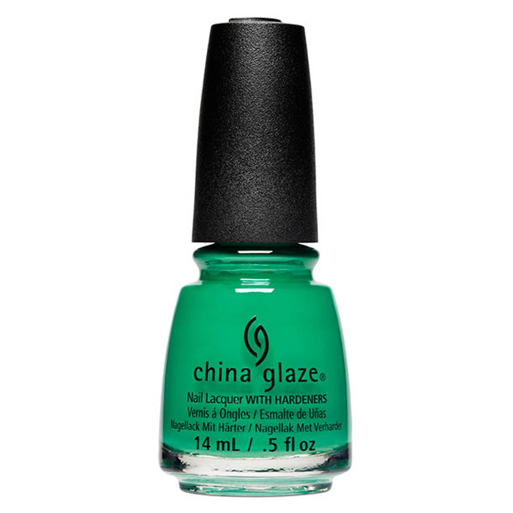 China Glaze Emerald Bae polish