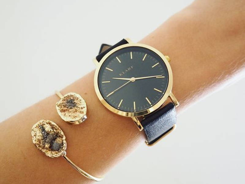 Leather Watch Arm Candy