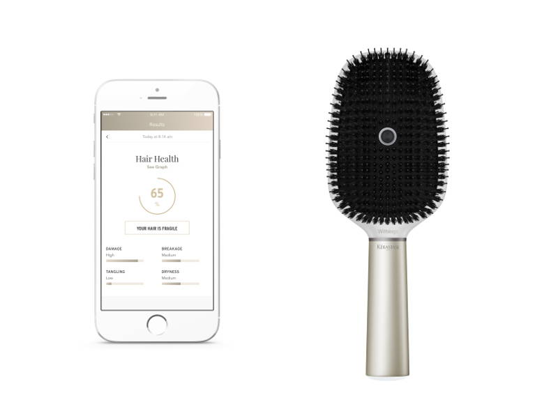smart hair brush