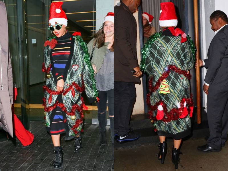 Beyonce christmas jacket jumper