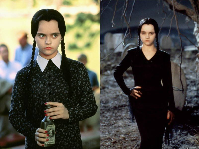 Wednesday Addams Black Dress