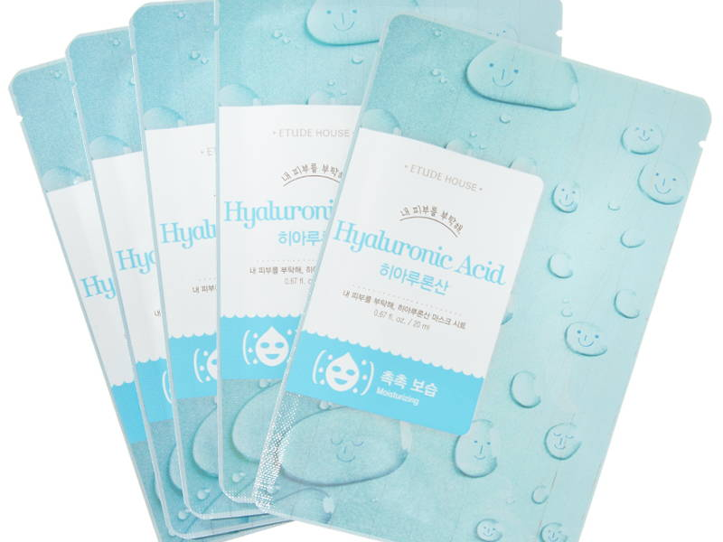 Etude house hyaluronic acid mask