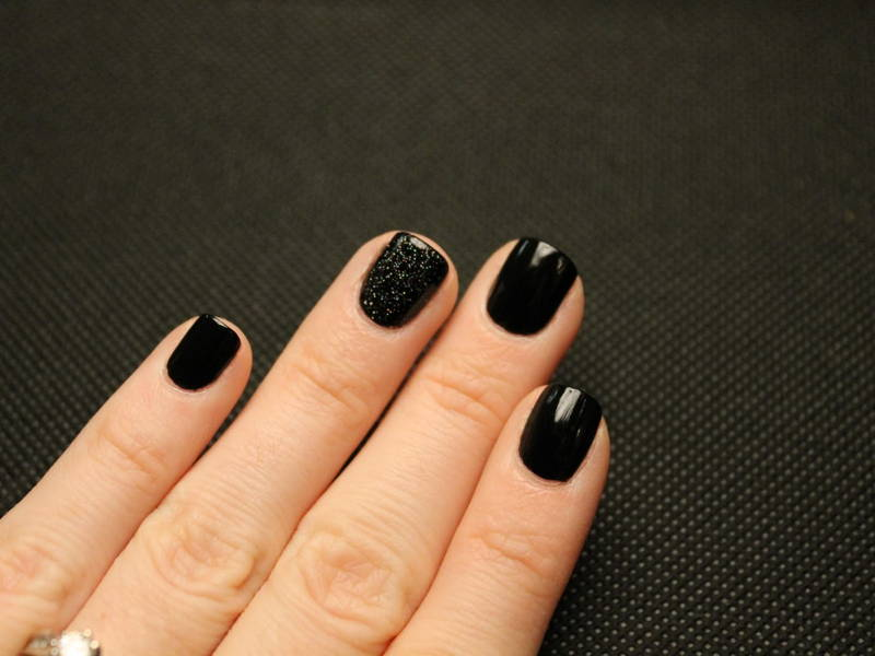 Soft square nail shape