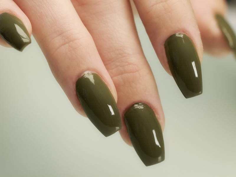 Coffin nail shape
