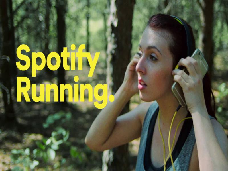 spotify premium running