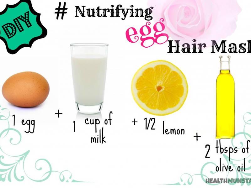 Egg DIY Hair Mask