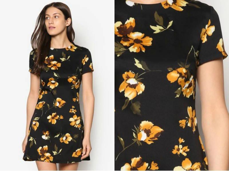 fit & flare floral dress