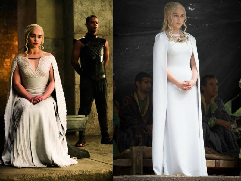 daenerys cape dress