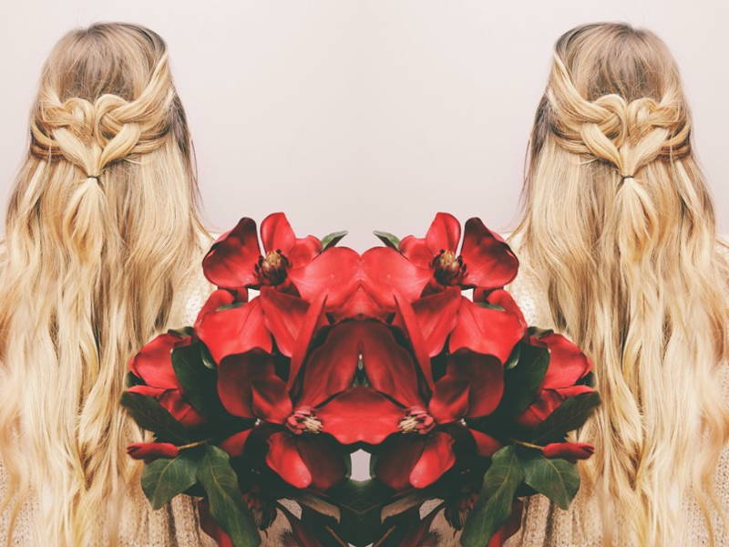 Valentine's Day Hair Looks That Will Give You Heart Eyes