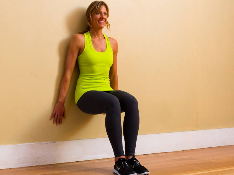 Lower Body Wall Sit