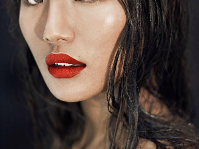 Red Coloured Lipstick