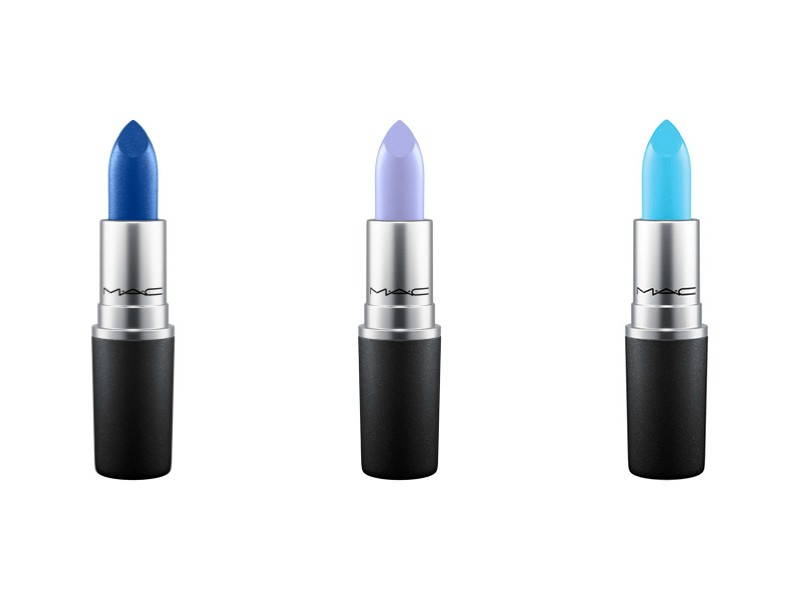 Blue Shades MAC Lipstick