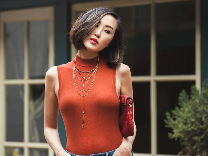 Chriselle Lim Turtleneck