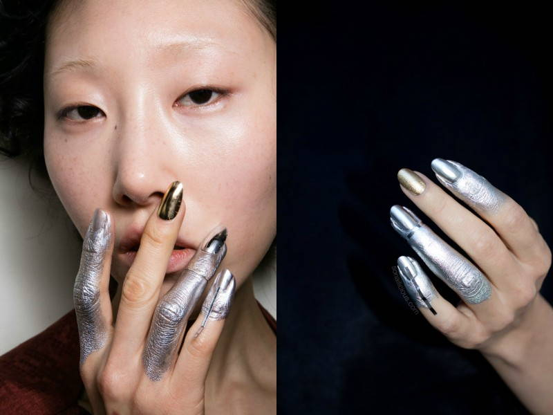 Vivienne Westwood Fall 2016 Nails