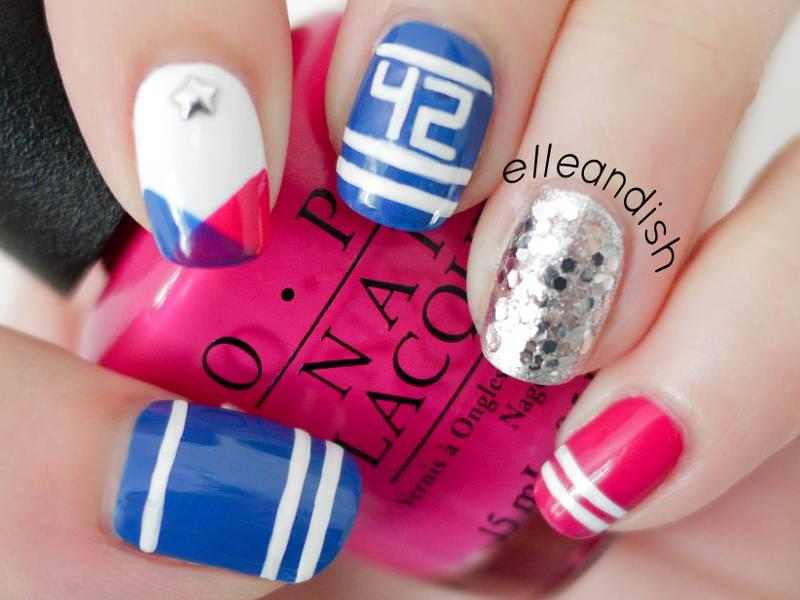 sports team nails
