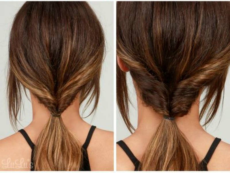 hairstyle chignon