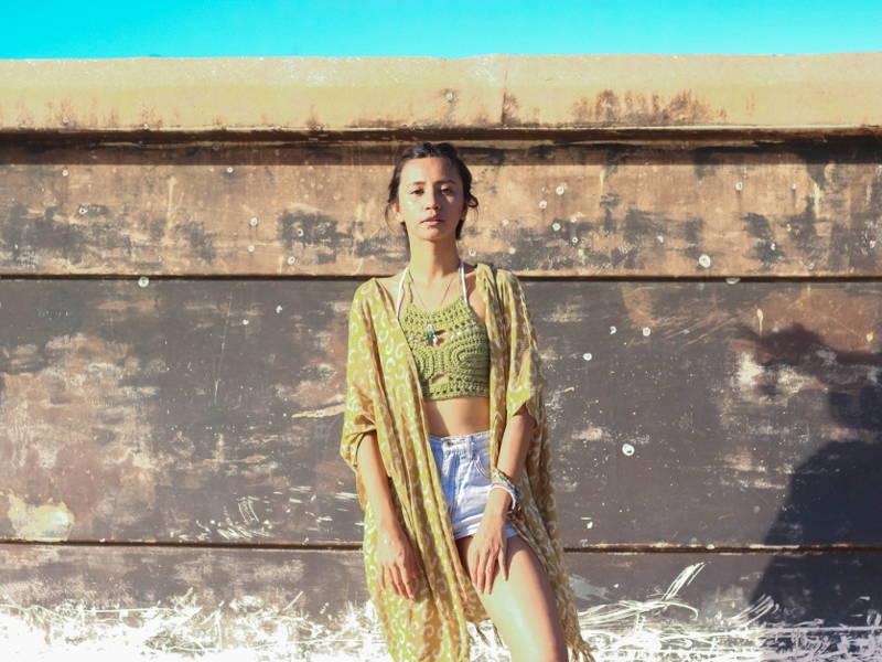 Beach Kimono Fashion