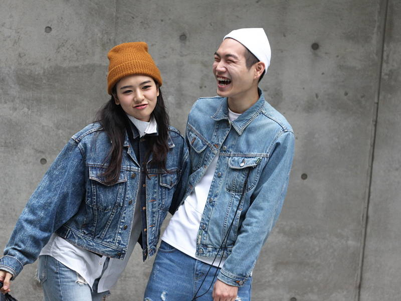 Couple in Denim