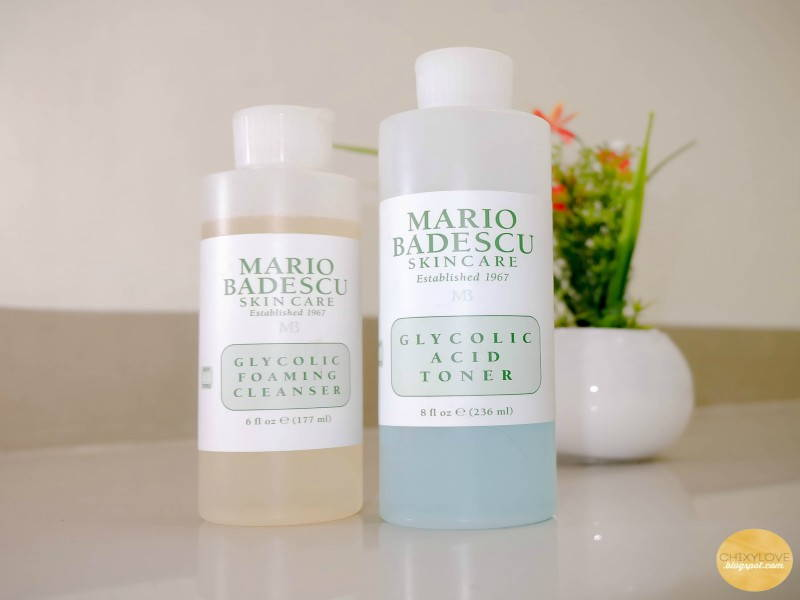 mario bedescu glycolic foaming cleanser