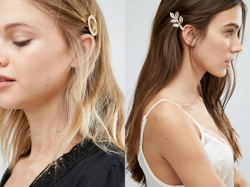 Minimalistic hair accessories