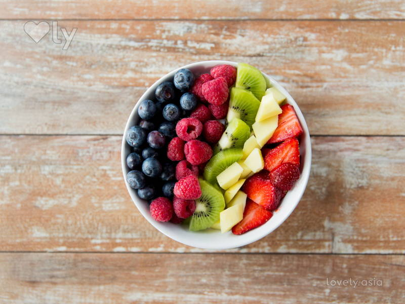 fresh fruits bowl