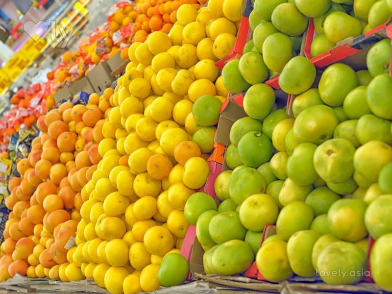 Fruits and Veggies in Bulk