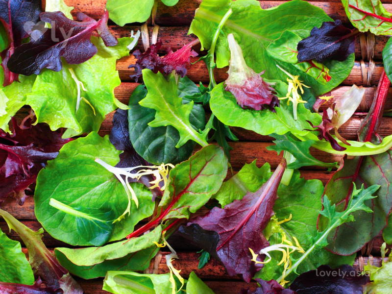 vegetable leaves