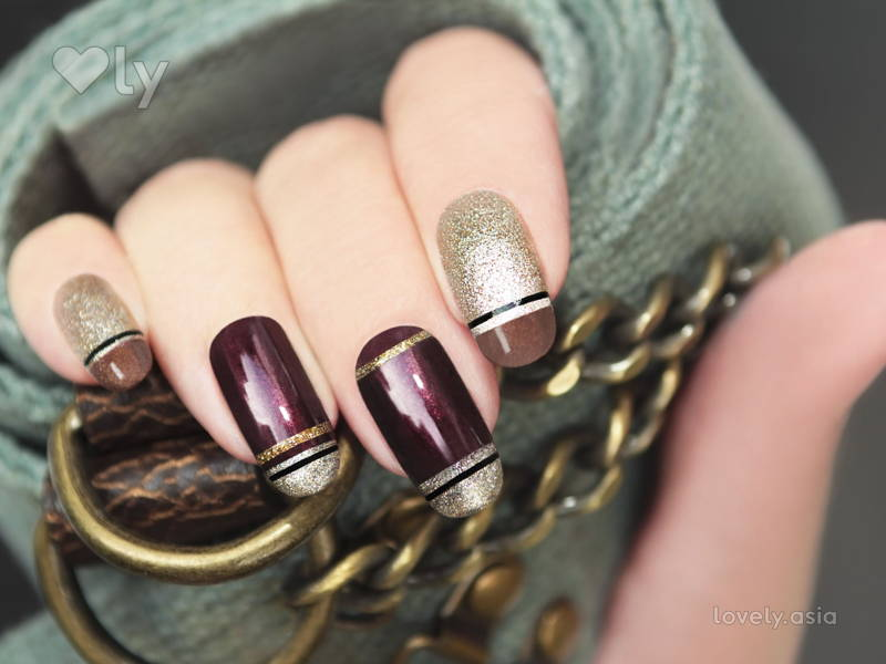 DIY Nail Art With Basic Household Items | Lovely.asia