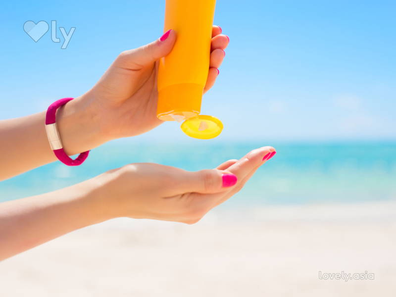 sunscreen with benzophenone